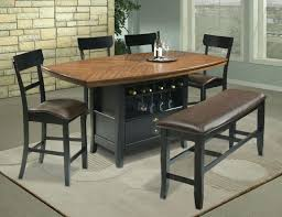 Wine Rack Dining Table Built In Kitchen Tables Room 3 Shelf Cappuccino Bar Ideas