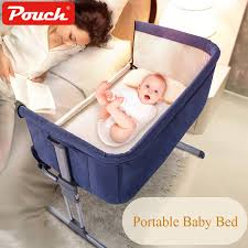 Free Ship Pouch Brand Baby Bed Multifunctional Baby cradle