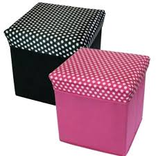 polka dot ottoman with gold dots nursery transitional and