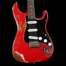 Fender Custom Shop 60s Roasted Mahogany Stratocaster Dakota Red Heavy Relic