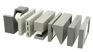 accessoires de bureau design set de bureau lexon 7 pièces gris achat accessoire bureau design
