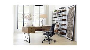 Crate And Barrel Slim Desk Lamp by Crate U0026 Barrel Beckett 6 High Shelf Shelves Desks And Crates