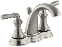 Kohler Devonshire Faucet Brushed Nickel by Faucet Com K 393 N4 Cp In Polished Chrome By Kohler