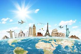 Travel The World Stock Hd Wallpaper