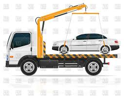 100 Tow Truck Vector With Small Sedan Car Clipart Sohadacouri