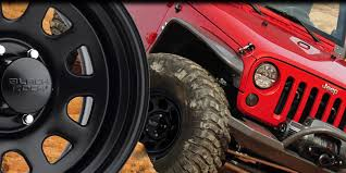 Black Rock Styled Off-Road Wheels - Choose A Different Path
