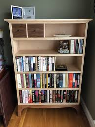 Fine Woodworking Bookcase With Drawers