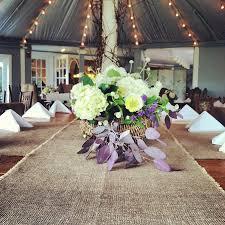 108 Long Burlap Table Runner Rustic Style Wedding Decor