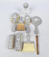 Vanity Dresser Set Accessories by 58 Best Beautiful Vintage Boudoir Accessories Images On Pinterest
