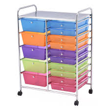 Desk Drawer Organizer Amazon by Storage Drawer Carts Amazon Com Office Furniture U0026 Lighting