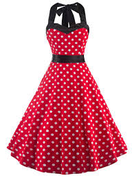 vintage dresses red with white xl vintage women u0027s open back