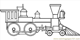 Train Coloring Page 23