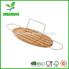 bamboo bathtub caddy bamboo bathtub caddy direct from zhong min