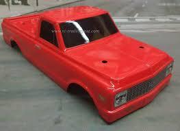 100 72 Chevy Truck For Sale Ebay 19 C10 Custom Painted 110 RC Monster Body For Traxxas