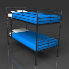 ikea svarta bunk bed 3d model formfonts 3d models textures