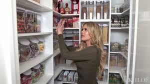 Khloe Kardashian Kitchen Tour Best Kitchen Organization Ideas