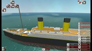 Roblox Rms Olympic Sinking by From The Depths Rms Titanic Minecraft Design Youtube