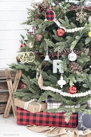 Woodland Rustic Christmas Tree Live Laugh Rowe