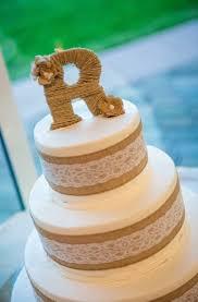 Rustic Simple Decoration Burlap Wedding Cakes Dazzling Design Best 25 Cake Ideas On Pinterest