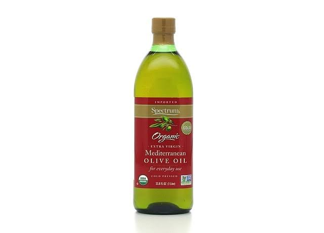 Spectrum Organic Extra Virgin Mediterranean Olive Oil - 33.8 fl oz bottle
