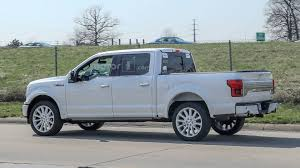 100 New Ford Pickup Truck 2019 F150 Limited Spied With Rear Bumper Dual Exhaust