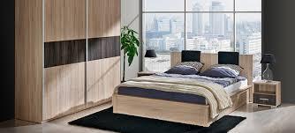 schlafzimmer komplettset kleiderschrank bett 160x200 nachttische eiche neu