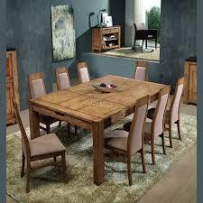 table de salle à manger extensible chêne massif 4 pieds