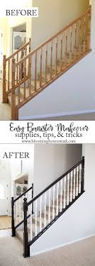 Best 25+ Painted Stair Railings Ideas On Pinterest | Railings ... Chic On A Shoestring Decorating How To Stain Stair Railings And Best 25 Refinish Staircase Ideas Pinterest Stairs Wrought Iron Stair Railing Iron Stpaint An Oak Banister The Shortcut Methodno Howtos Diy Rail Refishing Youtube Photo Gallery Cabinets Boise My Refinished Staircase A Nesters Nest Painted Railings By Chameleon Pating Slc Ut Railing Concept Ideas 16834 Of Barrier Basic Gate About