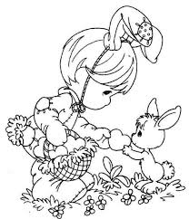 Free Easter Coloring Pages For Girls