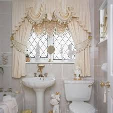 Design Bathroom Window Treatments by Curtains U0027 Designs For Bathrooms And Showers Window Luxury And