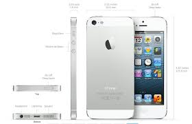 Dimensions of the iPhone 5  iPhone Tips and Tricks