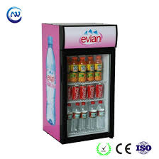 Small Beer Fridge Wine Cooler Ice Cream Display Refrigerator JGA SC80