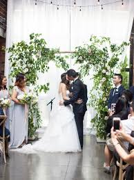 Picture Of Greenery And Flower Rustic Wedding Arch
