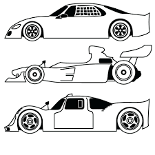 Coloring Pages Free Printable Sports Kids Cars Printables Invitations Cool