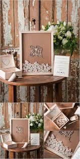 Rustic Laser Cut Wood Wedding Guest Book MrMrs Smith