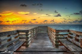 sunrise at the stairs stuart florida bathtub beach
