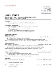 Welding Resume Sample Welder Job And Template Examples Mig Boilermaker Sa Medium Size