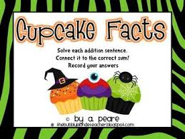 Cupcake Addition Facts Sums 2 17