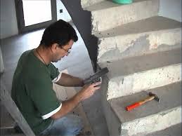 beton cire sur escalier bois escalier en béton ciré