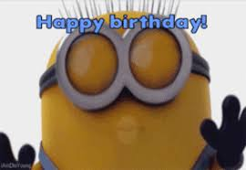 Happy Birthday Dave Minion