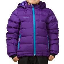 down kids jacket bergans