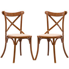 Costway Dining Chairs With Cross Back Set Of 2 Solid Wooden Frame Antique  Style Side Chairs For Kitchen Rooms Rattan Seat Set (Oak) High Back Antique Oak Morris Recling Chair Claw Feet Oak Framed Throne Chair Danish Homestore Wheat Ding Chairs Star Wars Bean Bag Costway With Cross Set Of 2 Solid Wooden Frame Style Side For Kitchen Rooms Rattan Seat A Pair 19th Century Hall In The Jacobean Charles Ii Single C1680 B3771 La41504 Vintage Rocker Press Cane Baby Empoto Childs Rush Coaching Settle Carved Renaissance Throne Victorian And