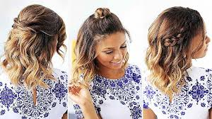 Pin Up Hairstyles For Long Curly Hair Luxury Cute Easy Vintage