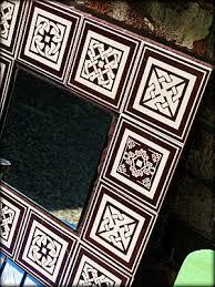 dollar store crafts 盪 archive 盪 make a tile framed mirror