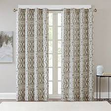Kohls Grommet Blackout Curtains by Grey Madison Park Lined Grommet Curtains U0026 Drapes Window
