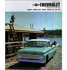 100 Chevy Pickup Trucks For Sale 1963 Truck S Brochure EBay
