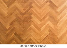 Wooden Parquet Floor Herringbone Pattern Top View