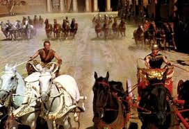 The Chariot Race Scene Illustrating Extremely Wide Aspect Ratio Used 2761