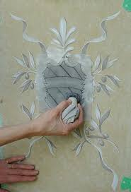 Wall Painting Techniques Decorative For Interior Walls Model