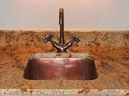 Bar Sink by Copper Bar Sinks By Circle City Copperworks Away Room